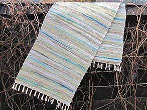 Úžitkový textil - KOBEREC tkaný 70x250cm pastel - 6366740_