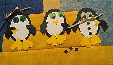 Polotovary - výrezy - polotovar na tvorbu tučniakov s deťmi - 6366682_