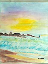 """Obrazy - Obraz  """"zátišie pri mori """" - 6367436_"""