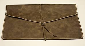 Na notebook - Kožený obal na notebook - 6365956_