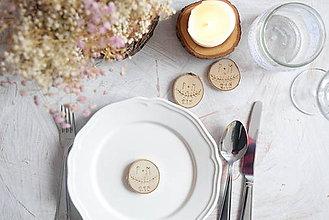 Darčeky pre svadobčanov - Vypaľované drievka - darčeky pre svadobčanov - 6366889_