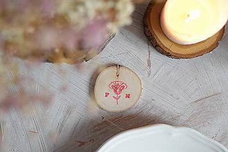 Darčeky pre svadobčanov - Drievka maľované - darčeky pre svadobčanov - 6366980_