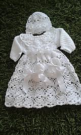 Detské súpravy - Šaty Tamara - 6368127_