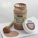 Farby-laky - Dekor Paint Soft 100ml - mliečna čokoláda - 6368195_