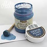 - Dekor Paint Soft 230 - džínsová modrá  - 6368281_