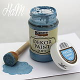 - Dekor Paint Soft 100ml- ľanová modrá  - 6368340_