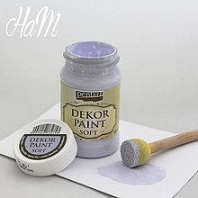 Farby-laky - Dekor Paint Soft 100ml-svetlofialová - 6368174_