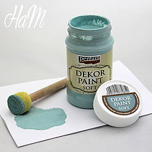 Farby-laky - Dekor Paint Soft 100 ml - country modrá - 6368210_