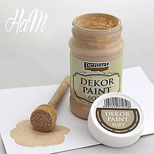 Farby-laky - Dekor Paint Soft 100 ml - capuccino - 6368213_