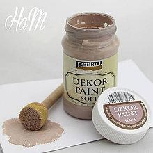 Farby-laky - Dekor Paint Soft 100ml - mandlová  - 6368317_