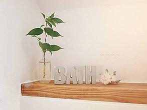 Tabuľky - Betón v kúpeľni - 6368582_