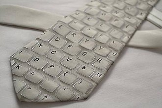 Doplnky - Kravata s klávesnicí - 6369338_