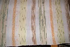 Úžitkový textil - Tkaný svetlý koberec - 6365586_
