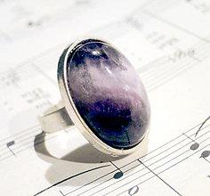 Prstene - Amethyst in Silver - 6370171_