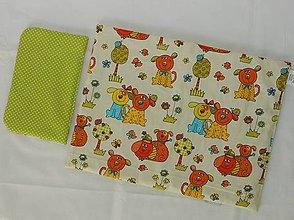 Hračky - Perinky pre bábiku-Psík a mačička - 6371870_