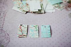 Menovky/visačky MAPA