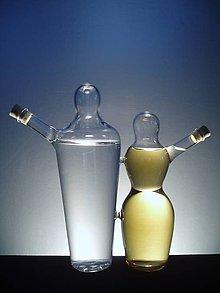 Nádoby - láhev na 2 druhy alkoholu - PÁR - 6370815_