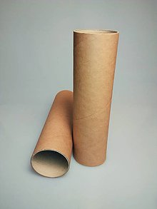 Obalový materiál - Trubica natur Ø6cm, dĺžka 23cm - 6370620_