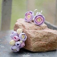 Sady šperkov - Pastelová sada s príveskom - 6373353_