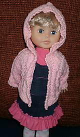 Bábiky - Riflová sukňa,sveter,pančuchy,tričko - 6371969_