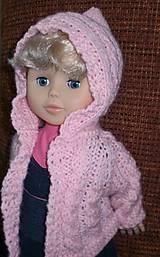 Bábiky - Riflová sukňa,sveter,pančuchy,tričko - 6371973_