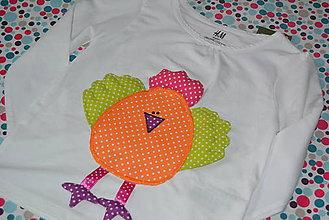 278d3dd241a4 Detské oblečenie - Oranžové kuriatko - 6372008