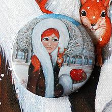 Zrkadielka - Zrzka a zrzečka- zrcátko - 6371405_