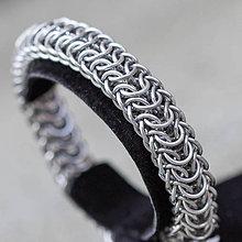 Šperky - Dračí hřbet II - pánský náramok - 6376054_