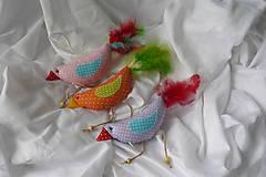 """Dekorácie - Papagáj """"Ara"""" - 6376260_"""