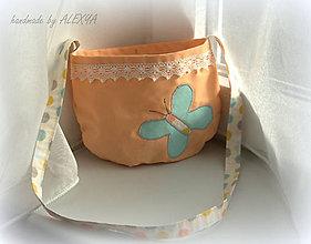 Detské tašky - Kabelka motýlik 23x18 - 6377053_