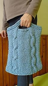 Veľké tašky - Pletená taška - 6376375_