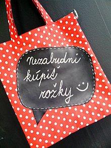 Nákupné tašky - Nezabudni kúpiť... - 6376007_