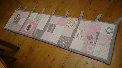 Textil - Zástena ku posteli - Princezná na hrášku :) - 6382982_