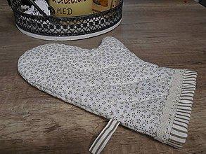Úžitkový textil - vintage chňapka do kuchyne - 6383778_