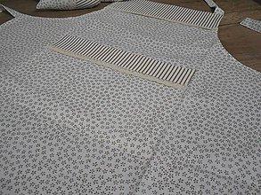 Úžitkový textil - vintage zásterka do kuchyne - 6383818_