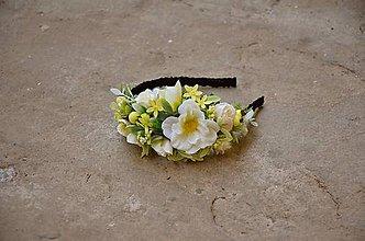 Ozdoby do vlasov - Záhrada bielych sasaniek - 6380610_