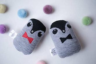 Doplnky - Mini tučniačik v krabičke - 6383984_