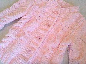 Detské oblečenie - Nežne ružový - 6380653_