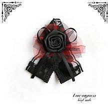 Pierka - Gothické svadobné pierko - 6379342_