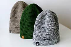 - ...pánska čiapka oversize šedo-biela - 6381420_