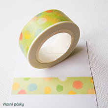 Papier - farebné machule - 6381105_