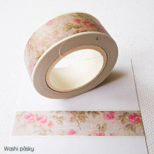 Papier - ruže vintage - 6381217_