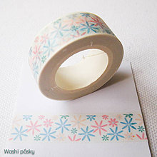 Papier - farebné kvety - 6381223_