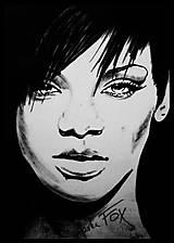 Obrazy - Magická Rihanna - 6379543_