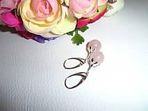 Náušnice - náušničky pre ruženku - 6381836_