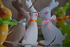 Dekorácie - Mix zajačik - 6382886_