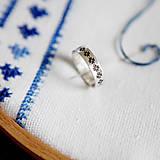 Prstene - Folklórne obrúčky na želanie - 6382090_