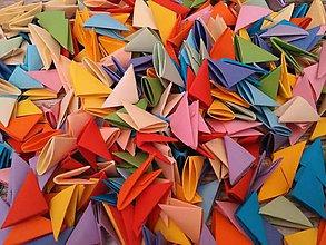 Materiál ručne robený - dieliky na skladanie origami - 6383717_