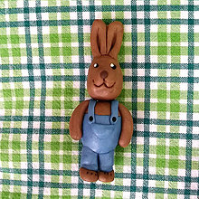 Hračky - (nielen) Veľkonočné zajace (veľkonočný zajačik) - 6383352_