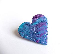 Odznaky/Brošne - Steampunk Srdce - 6384717_